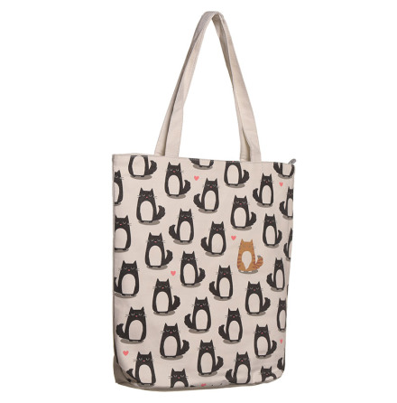 Väska med Kattmotiv. Feline Fine