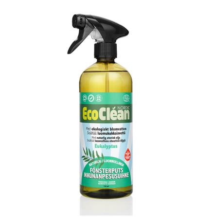 Ekologiskt Fönsterputs 750 ml Eukalyptus