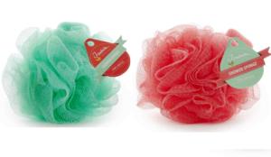 Duschboll Duschpuff olika färger
