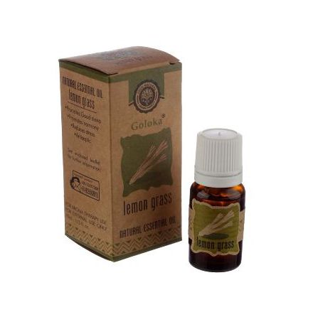 Eterisk olja Lemongrass Organic 10 ml