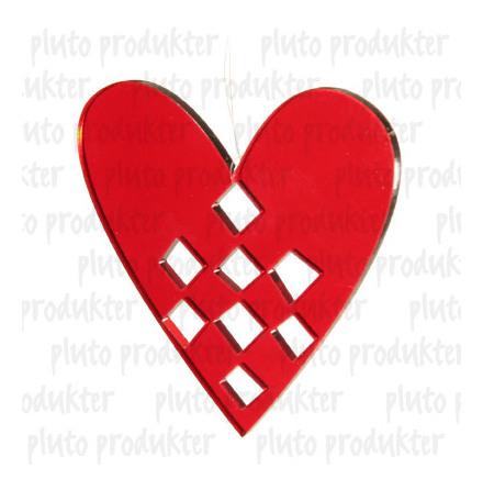 Hjärta Plexiglas
